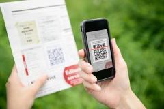 Scanning Discount QR Code